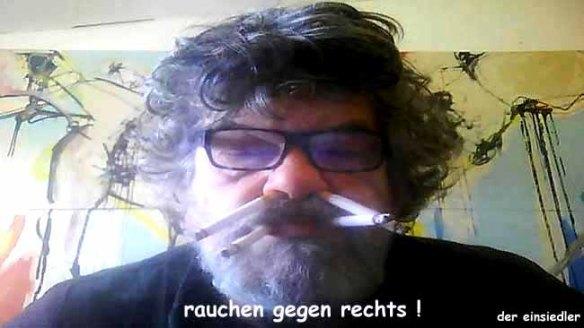 rauchen gegen rechts