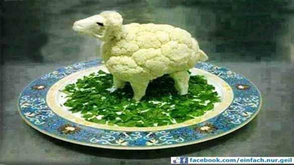 veganes lamm